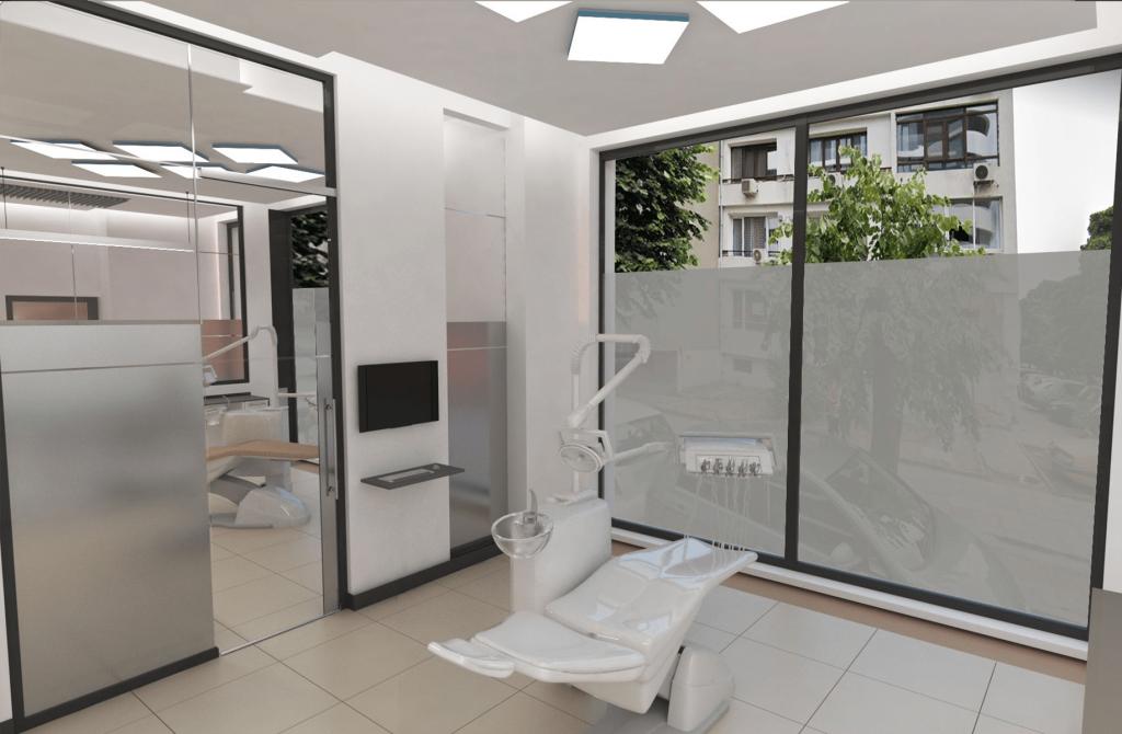 3D проект на зъболекарски кабинет