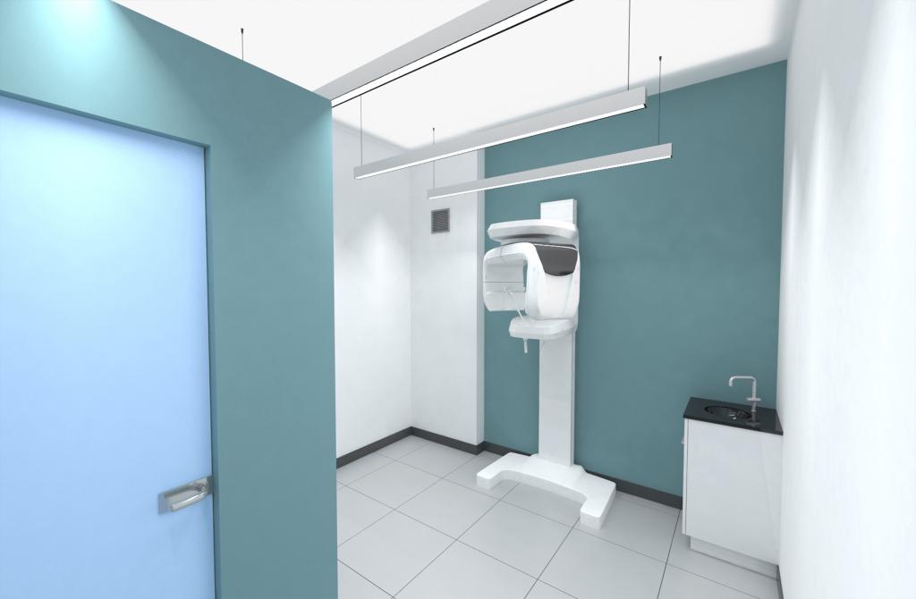 3D рендер дентален рентген