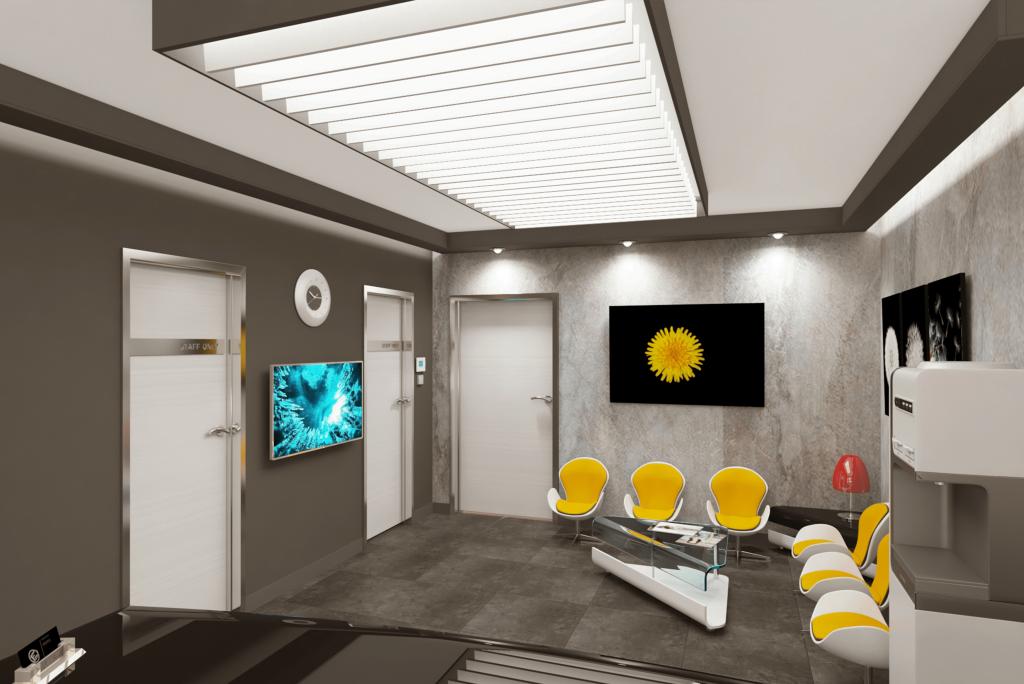 3Д визуалзиации на дентални кабинети