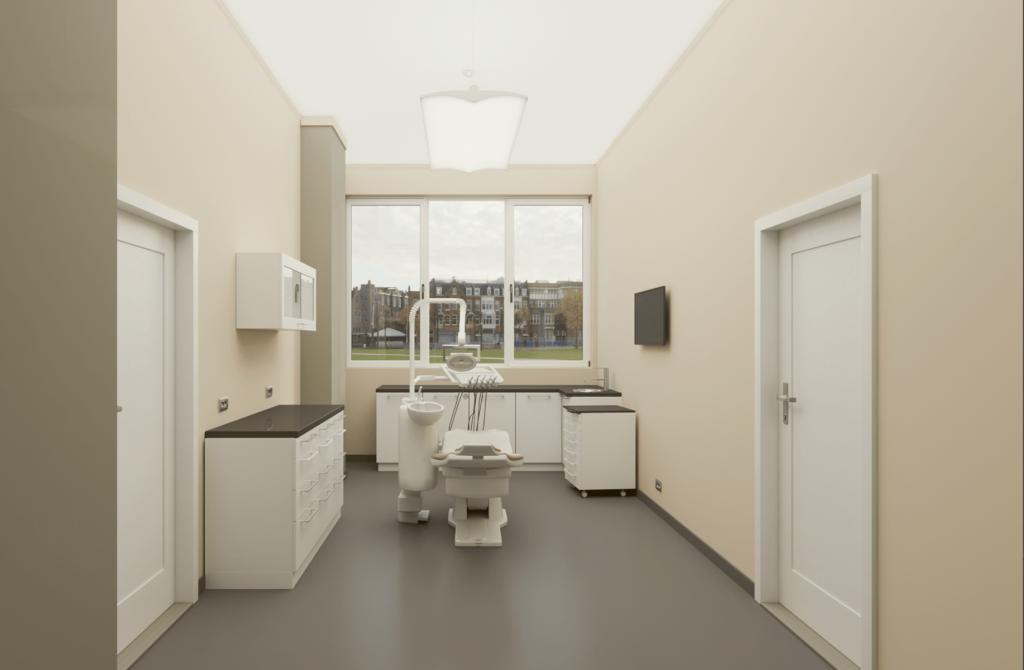 3д визуализация дентален кабинет