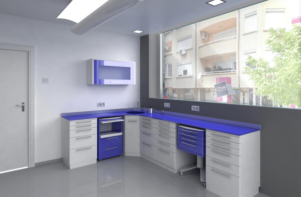 3d визуализация на дентален кабинет